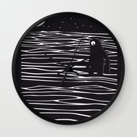 scary Wall Clocks featuring Scary monster! by SpazioC