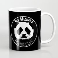 misfits Mugs featuring Mishaps Friend Club by IRIS Photo & Design