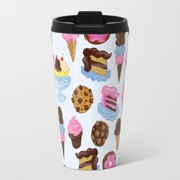 Dessert Pattern Travel Mug