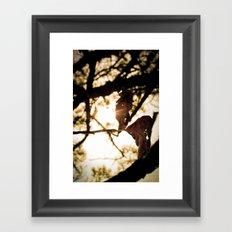 leaf art Framed Art Print