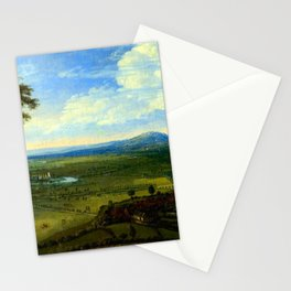Jan Siberechts View of Nottingham from the East Stationery Cards