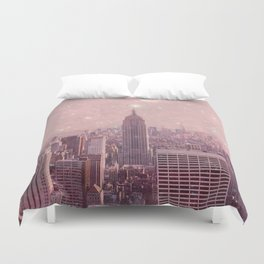 Stardust Covering New York Duvet Cover