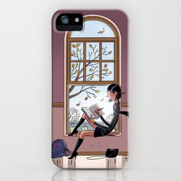 Journal de Karine iPhone Case