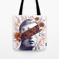 hero Tote Bags featuring Hero by YONIL