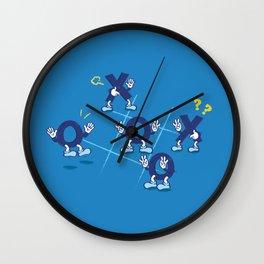 LOST THE WAY Wall Clock