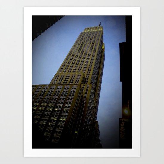New York in 20 pics - Pic 19. Art Print