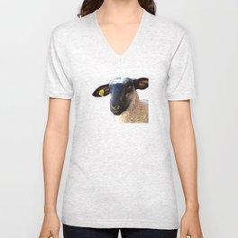 Lamb #0487 Unisex V-Neck