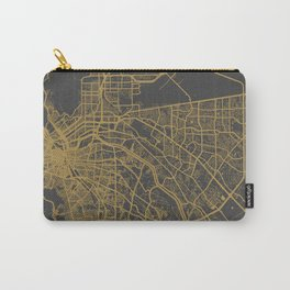 El Paso map ocher Carry-All Pouch