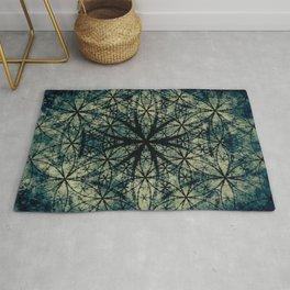 Sacred Geometry for your daily life -  ESOTERIC FLOWER OF LIFE Rug
