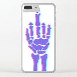 F&O Clear iPhone Case