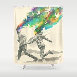 Emanate Shower Curtain