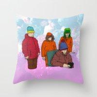 colorado Throw Pillows featuring Colorado by Benk