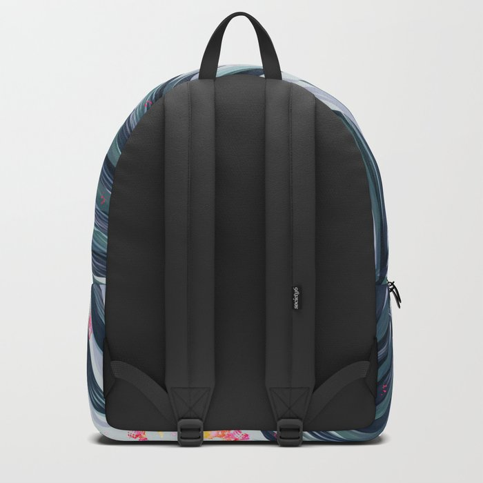 Unique Delicate Tropical Leaves Pattern Backpack