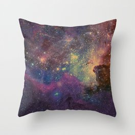 univers abstrait Throw Pillow