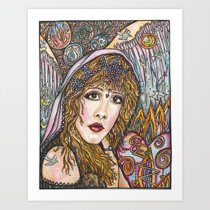 BLAME IT ON MY WILD HEART, STEVIE NICKS Kunstdrucke