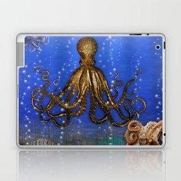 Octopus' Lair - colorful Laptop & iPad Skin