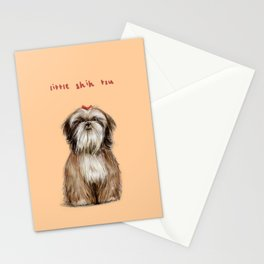 Shih Tzu Stationery Cards