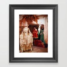 Venetian Dresses Framed Art Print
