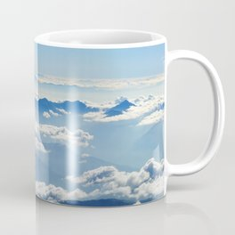 Mountains and Clouds in Nepal Coffee Mug
