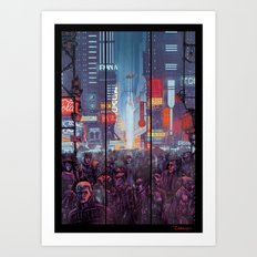 Blade Runner Harrison Ford Art Print