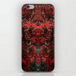 Mirrored Trees 11 iPhone Skin