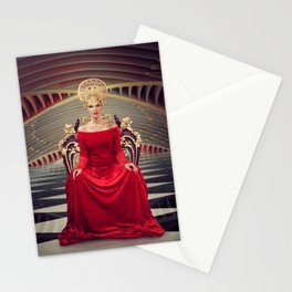 Queen of red Stationery Cards