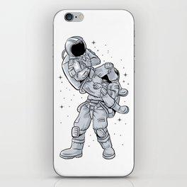 Bjj Astronaut Galactic Flying Armbars iPhone Skin