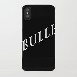 bulle iPhone Case