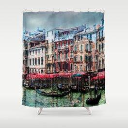 Venice Post Card Shower Curtain