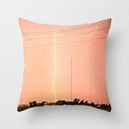 Splitting Image Throw Pillow