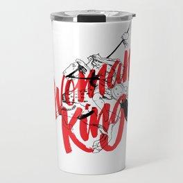 woman king Travel Mug
