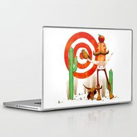 cowboy Laptop & iPad Skins featuring Cowboy by Nacho Z. Huizar