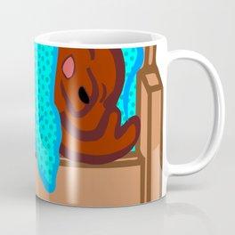 Sleeping Bear Clipart Coffee Mug