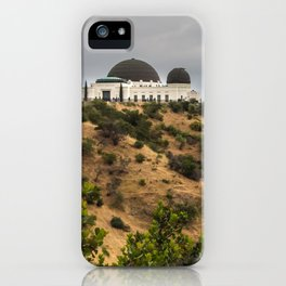 Griffith Park Observatory iPhone Case