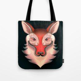 Fox Rabbit Tote Bag