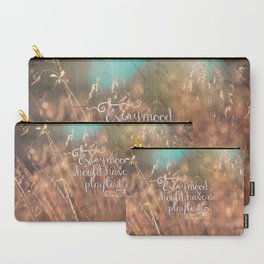 Strains of Silence by Bethany Kaczmarek | Quote 2 Carry-All Pouch