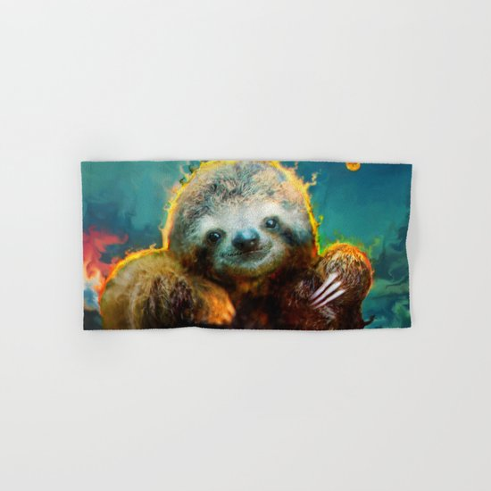 sloth Hand & Bath Towel