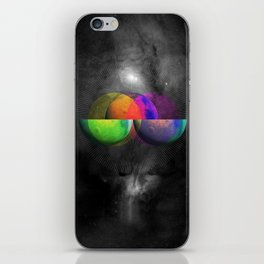 Venn Diameter iPhone Skin