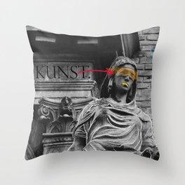Das ist Kunst?! Throw Pillow