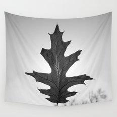 Dark Leaf 1 Wall Tapestry