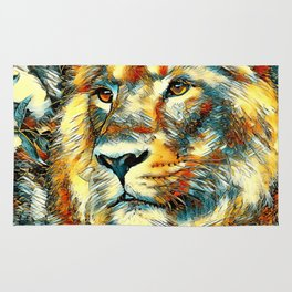 AnimalArt_Lion_20170606_by_JAMColorsSpecial Rug