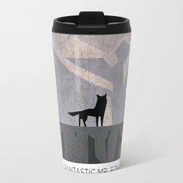 Minimalist Fantastic Mr. Fox Travel Mug