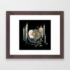 The Witch's Brew Framed Art Print