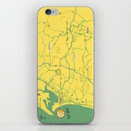 Maps - Durban iPhone Skin