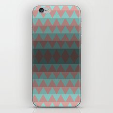 Green and Red Stripes  iPhone & iPod Skin