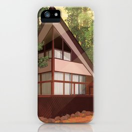 Tahoe Cabin iPhone Case