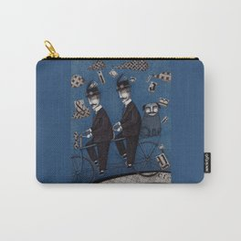 Two Men Travelling Carry-All Pouch