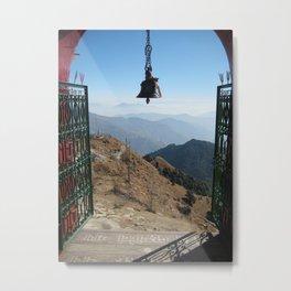 Himalayan Mountain Gate Metal Print