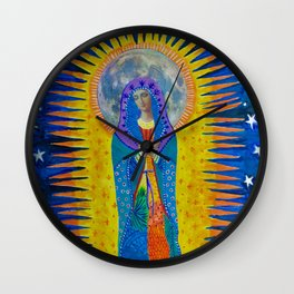 "Mary: ""Let it Be"" Wall Clock"