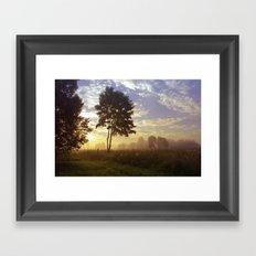 One summer day (wide) Framed Art Print